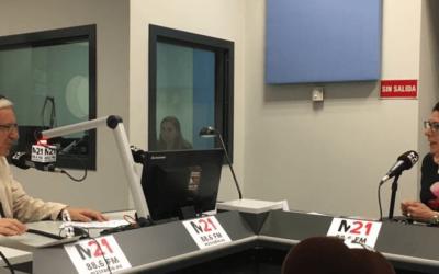 Entrevista a María Rodríguez en M21Radio 29-junio-2017